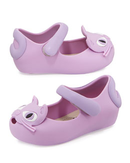 Melissa Shoes Mini Ultragirl II Jelly Mary Jane, Purple
