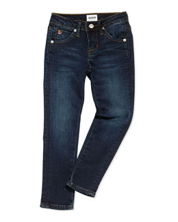 Hudson Collin Skinny Charged Blue Jeans, Girls' 4-6X