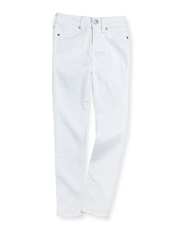 Joe's Jeans White Denim Leggings, Girls' 7-14