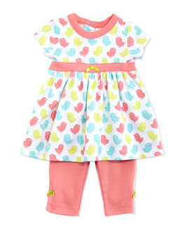 Offspring Birdie Tunic & Leggings Set, 3-24 Months