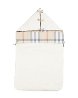 Burberry Hooded Sleeping Bag, Cream