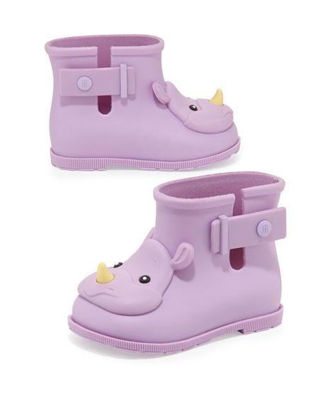 Girls' Sugar Rhino Rain Boots, Purple