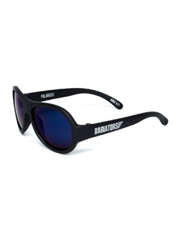 Babiators Polarized Kid's Sunglasses, Black Ops, Ages 0-3