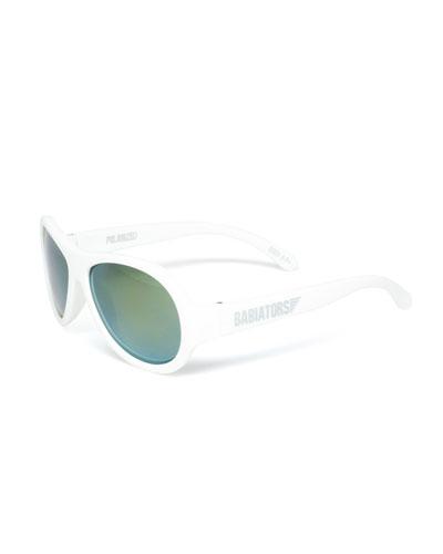 Babiators Polarized Kid's Sunglasses, White, Ages 3-7