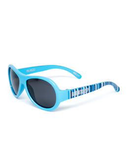Babiators Polarized Kid's Sunglasses, Blue, Ages 0-3