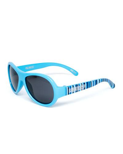 Babiators Polarized Kid's Sunglasses, Blue, Ages 3-7