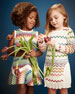 Zigzag Flared Dress, Girls' 2-10