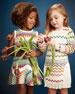 Zigzag Knit Drop-Waist Dress, Multi, Girls' Sizes 2-10