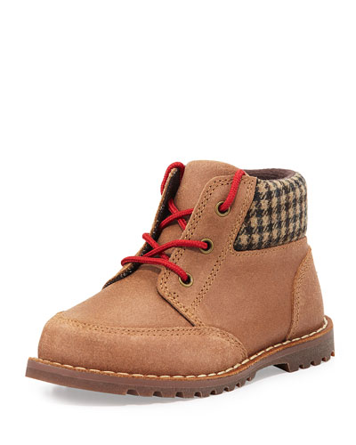 UGG Australia Toddler Orin Boot With Flannel Collar, Chestnut, Sizes 6-11T