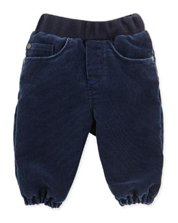 Paul Smith Corduroy Gathered-Leg Pants, Boys' 3M-3T