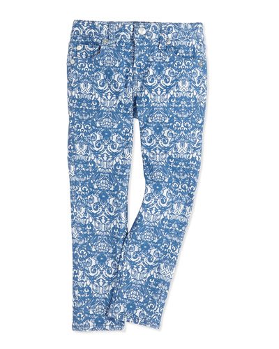 7 For All Mankind The Skinny Jacquard Girls' Jeans, 7-16