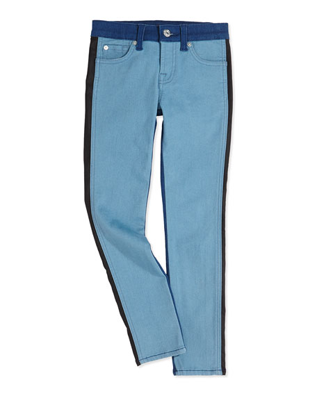7 For All Mankind The Skinny Colorblock Girls'