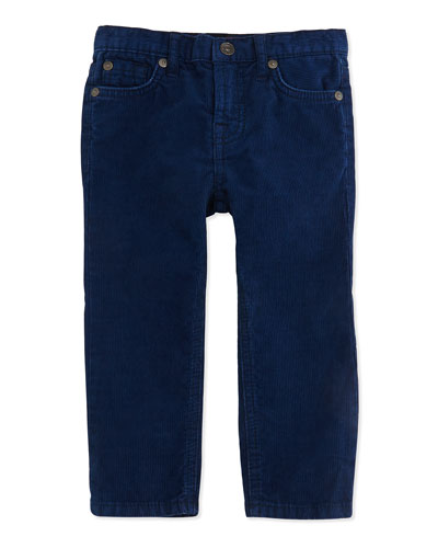 7 For All Mankind Standard Corduroy Jeans, Navy, 12-24 Months