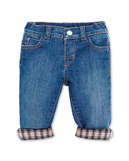 GUCCI Jeans with Flannel Lining, 0-36 Months