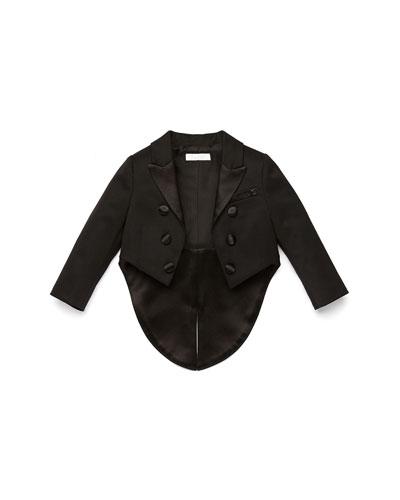 GUCCI Tailcoat Tuxedo Jacket, Black, 3-36 Months