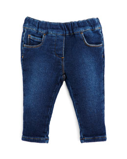 GUCCI Stretch-Denim Leggings, Girls' 0-36 Months