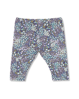 GUCCI Freesia-Print Leggings, Blue, Girls' 0-36 Months