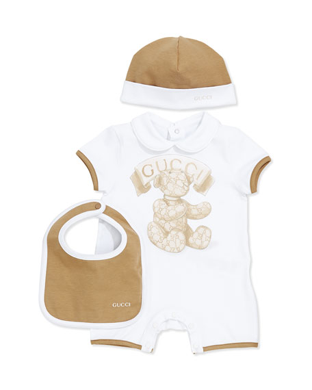 5bb9c3573fb Gucci 3-Piece Newborn Gift Set