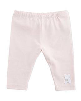 GUCCI Leggings with GG Teddy, Pink, 0-18 Months