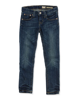 Ralph Lauren Childrenswear Bowery Skinny Denim Jeans, Girls' 2T-3T
