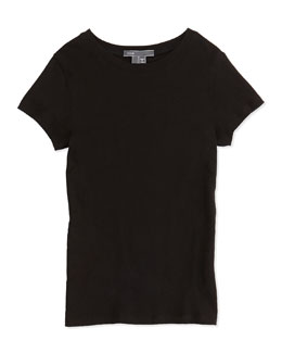 Vince Girls' Favorite Tee, Black, 4-6X