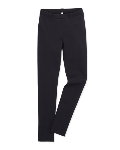 Scrunch Stretch Jersey Leggings, Girls