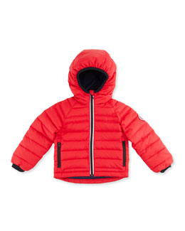 Canada Goose Kids' Bobcat Hooded Jacket, Red, Sizes 2-7