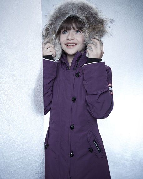 Canada Goose' Girls' Brittania Parka - Sizes Xs-xl - Torch Pink