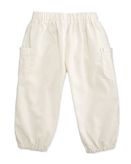 Busy Bees Charlotte Corduroy Pants, Cream, 3-24 Months