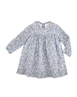 Busy Bees Ginny Floral-Print Dress, Purple, 3-24 Months