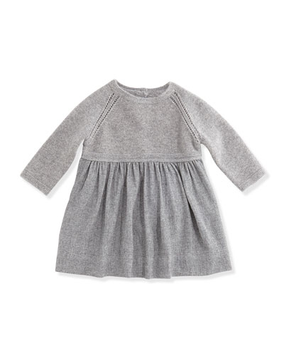 Burberry Knit Combo Dress w/Bloomers, 3-24 Months