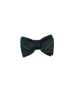 Florence Eiseman Photo-Op Plaid Bow Tie
