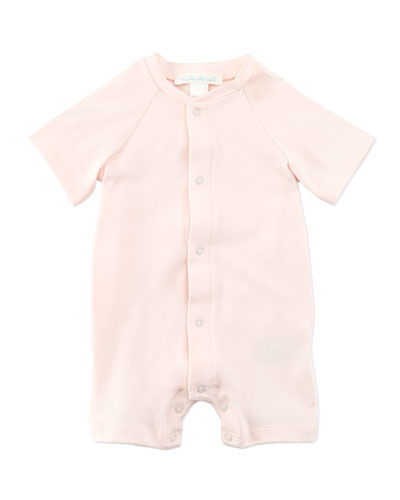 Marie Chantal Angel Wing 3/4-Sleeve Sleepshirt, Pink, 0-18 Months