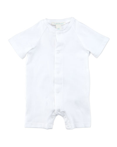 Marie Chantal Angel Wing 3/4-Sleeve Sleepshirt, White, 0-18 Months