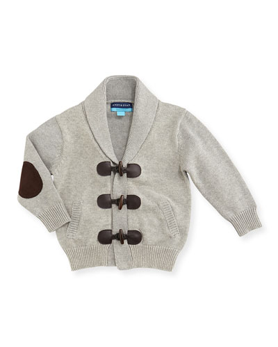 Andy & Evan Toggle-Front Cardigan, 3-24 Months