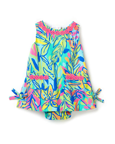 Lilly Pulitzer Baby Lilly Pulitzer Shift Dress, Multi Hot Spot