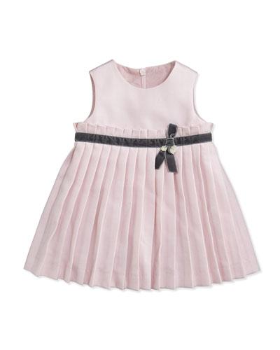 Tartine et Chocolat Girls' Ruffled Knit Dress, Light Pink, 3M-2Y