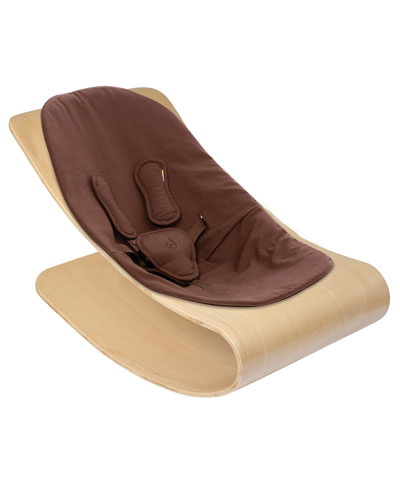bloom Coco Stylewood Baby Lounger, Natural/Henna