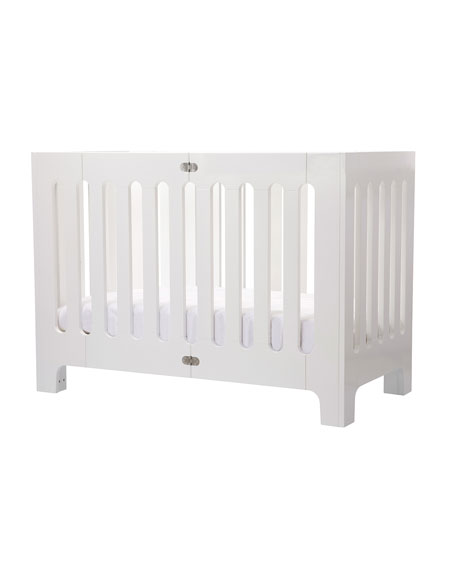 Alma Papa Crib, Coconut White