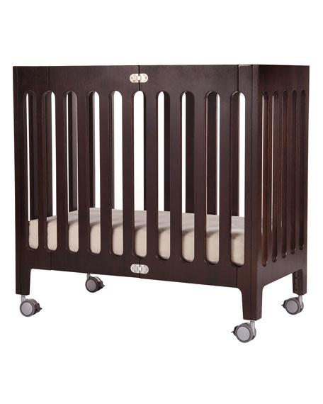 Alma Mini Crib, Cappuccino