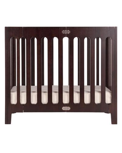 Alma Mini Crib  Cappuccino