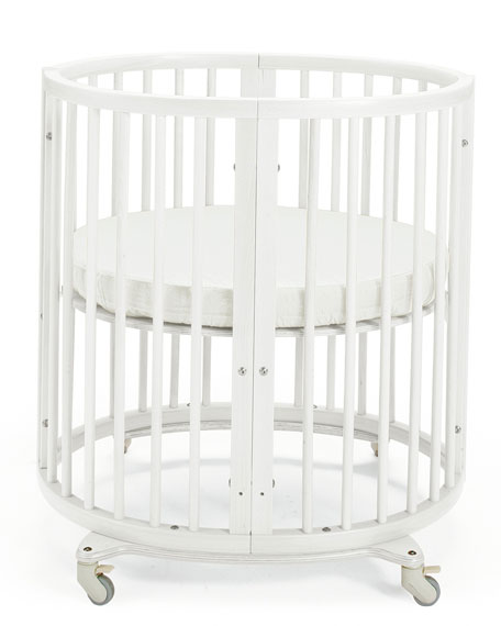Stokke Sleepi Mini Baby Crib Bundle, White