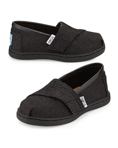 Glimmer Classic Slip-On, Black, Tiny