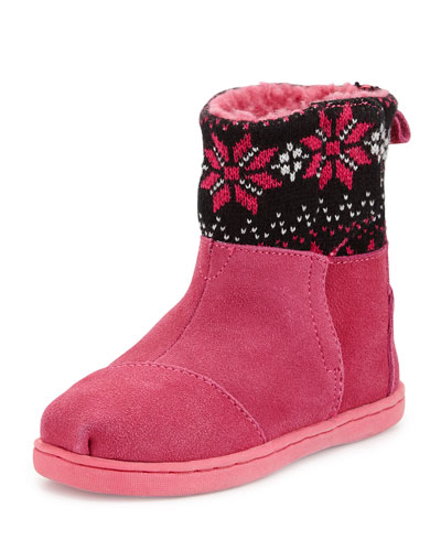 Fair Ilse Nepal Boots, Hot Pink, Tiny