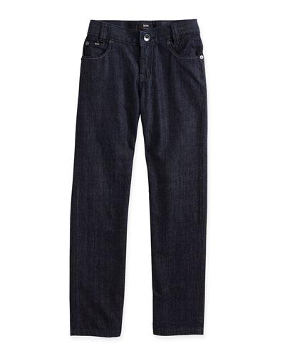 Regular-Fit Jeans, Denim Brut