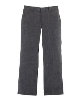 Woodsman Wool Twill Pants, Light Gray, Size 4-7