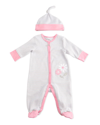Daisy Coverall & Hat Set, 3 Months