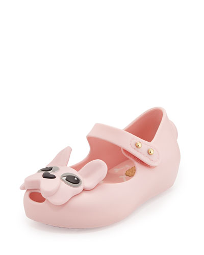 Ultragirl Dog Mary Jane Flat, Light Pink
