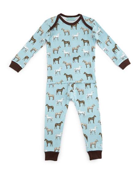 Bedhead Year of the Horse Pajama Shirt &
