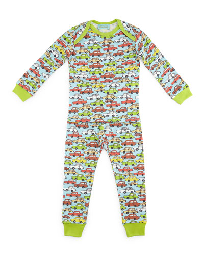 Hot Wheels Pajama Shirt & Pants, Light Blue, Size 3-24 Months